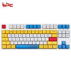 iKBCC200高达机械键盘Cherry红轴87键429元