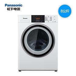 Panasonic松下松下(Panasonic)洗衣机全自动变频滚筒洗衣机8公斤下排水节能水泡沫净XQG80-N80WT2232元(需用券)