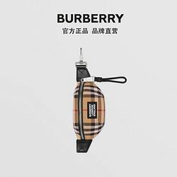 BURBERRY博柏利BURBERRY拼皮革腰包吊饰80310581 2700元