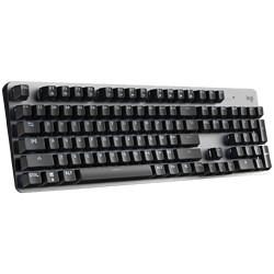 logitech罗技K845104键有线机械键盘黑色Cherry红轴单光399元