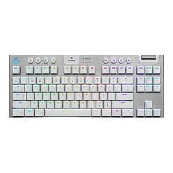 logitech罗技G913TKL84键Lightspeed双模机械键盘白色GLT机械轴RGB 1299元