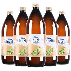 欧洲原装进口白啤酒大容量科滕白啤1L*6瓶装