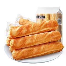 乐锦记手撕面包棒营养早餐网红零食蛋糕点心口袋奶香小面包原味192g(独立装6个) 8.28元
