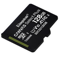 Kingston金士顿CANVASSelectPlusMicroSD存储卡128GB(UHS-I、V10、A1) 78.5元