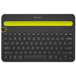 logitech罗技K480无线蓝牙键盘黑色无光139元