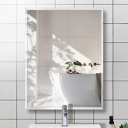 FOOJO富居镜子浴室镜免打孔化妆镜挂墙穿衣镜直角30×42cm 29.9元