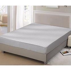 FUANNA富安娜家纺天然乳胶保护床垫凉感乳胶床垫(灰)1.8*2m(0.7cm厚度) 239元
