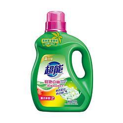 超能鲜艳亮丽洗衣液750g11.9元