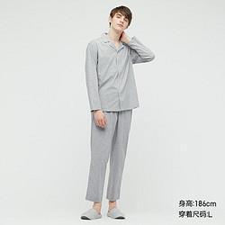 UNIQLO优衣库437343男士AIRism睡衣 99元