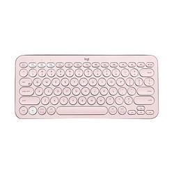 logitech罗技K380键盘+Pebble鼠标无线键鼠套装粉色    279元