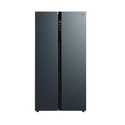 Midea美的冰箱双开门549升对开门一级能效变频无霜智能大容量BCD-549WKPZM(E)炫晶灰 2899元