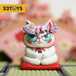 百亿补贴:52TOYS泡面猫头顶有粮第一弹惊喜盲盒 18.38元