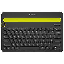 logitech罗技K480无线蓝牙键盘108元