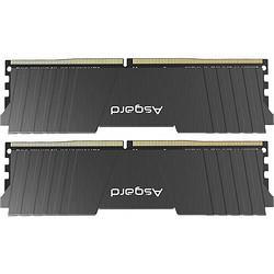 Asgard阿斯加特16GB(8Gx2)套装3200频率DDR4台式机内存条洛极51℃灰-游戏超频利器/T2489元