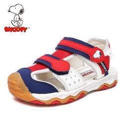 SNOOPY 史努比 儿童包头机能凉鞋