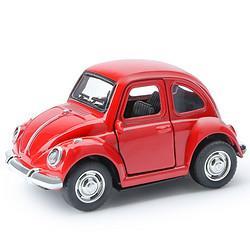 知识花园1/38MY66-Q5221甲虫回力合金车红色 14.5元(需买3件,共43.5元)