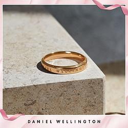DanielWellington丹尼尔惠灵顿爆款限量直降|DW经典轻奢高雅精致戒指单戒女男情侣指环    289元