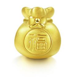 ChowSangSang周生生Charme串珠系列89197C足金转运珠1015元
