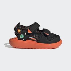adidas阿迪达斯WATERSANDALCTIGX2479男童运动凉鞋 123元(下单4件,实付492元)
