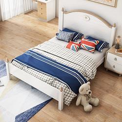 酷漫居儿童床全实木床男孩床单人床1.2米1.5米简约儿童房家具组合单人床1200mm*2000mm 2299元
