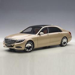 AUTOart奔驰.迈巴赫S-KLASSE(S600)仿真合金汽车模型收藏摆件76294 1630元