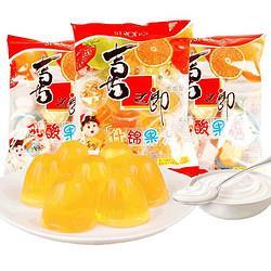 XIZHILANG喜之郎什锦果冻360g*3袋多口味混合布丁下午茶零食 14.5元