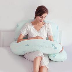 MERCURY水星家纺A类标准Baby多功能U型孕妇枕托腹护腰睡觉神器枕头148元