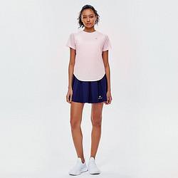 [sn]网眼拼接清凉透气短袖21夏女快干反光运动t恤女 37元