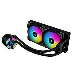 GOLDENFIELD金河田星辰S240星辰黑一体式水冷散热器台式电脑CPU散热器 359元