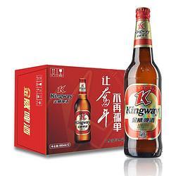 金威啤酒(Kingway)老金威啤酒11度600ml瓶整箱装12瓶 42元(需买3件,共126元)