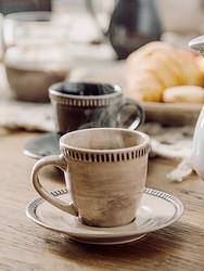 IJARL亿嘉复古美式咖啡杯碟套装工业风马克水杯子水壶陶瓷咖啡壶尼罗河 11.65元