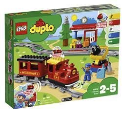 LEGO乐高DUPLO得宝系列10874智能蒸汽火车 285元