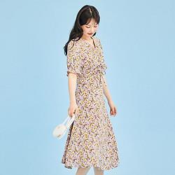 LaChapelle拉夏贝尔24235-12BF-77女士连衣裙 99元