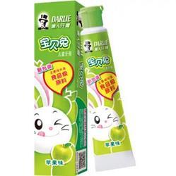 DARLIE黑人宝贝兔系列儿童牙膏苹果味40g