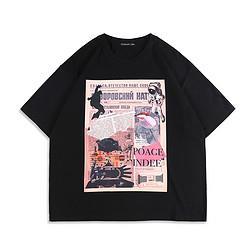 DEBRAND吴克群潮牌新款美式T恤男宽松印花半上衣潮流圆领个性体恤衫短袖 52元
