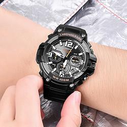 CASIO卡西欧手表指针系列多功能防水运动石英男士手表298元