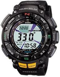CASIO卡西欧Casio卡西欧手表PROTREK3重传感器、坚固太阳能2-级LCD型号PRG-240男式手表1508.55元
