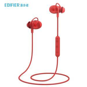 EDIFIER 漫步者 W285BT 入耳式颈挂式动圈蓝牙耳机 红色 169元(需用券)