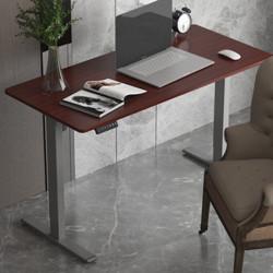Loctek乐歌站立办公智能电动升降电脑桌E2加宽/银灰    1399元