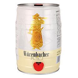 Würenbacher瓦伦丁小麦白啤酒5L 69元