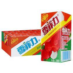 Coca-Cola可口可乐雪菲力荔枝汁饮料250ml*24盒 27元