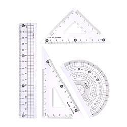 M&G晨光套尺简系列(15cm直尺+三角尺*2+量角器)4件套ARL962782.5元(需买5件,共12.5元)