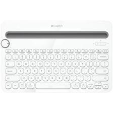 logitech 罗技 Logitech 罗技 k480 79键 无线蓝牙键盘 白色 无光139元