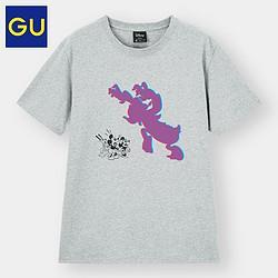 GU极优迪士尼联名332324男士T恤    39元