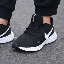 NIKE耐克Nike耐克女鞋2021新款REVOLUTION5休闲运动跑步鞋BQ3207-002
