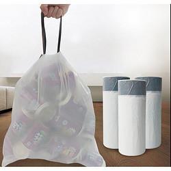 e洁手提式垃圾袋60只 4.88元
