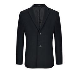 SEVEN柒牌男士毛呢大衣115C18060黑色B52    599元