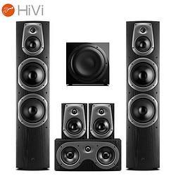 HiVi惠威D60HT+Sub10G音响家庭影院套装5.1声道 7299元
