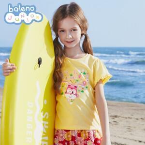 PLUS会员:Baleno 班尼路 女童短袖T恤 14.5元