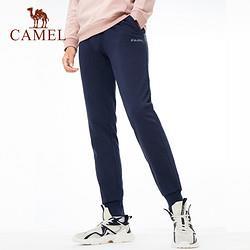 CAMEL骆驼运动裤男女束脚跑步健身裤休闲卫裤针织长裤 88元